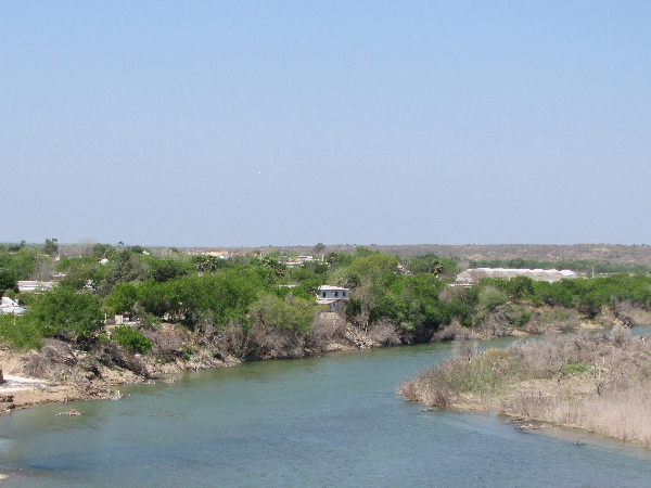 picture of the Rio Grand River in Texas