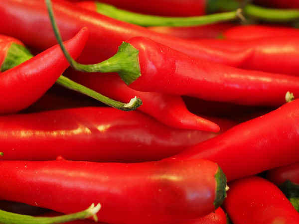 picture of red chilies