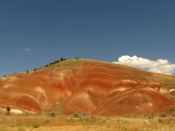 picture of the Painted Hills in central Oregon