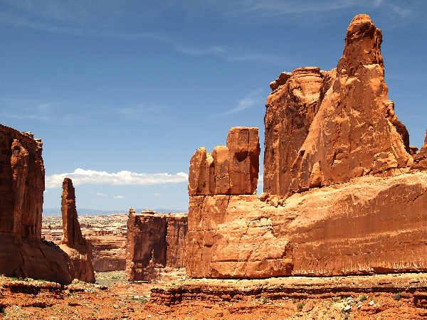 picture of Arches National Park in Utah, utah wildlife