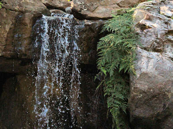 picture of a waterfall in Arkansas